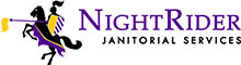 NightRider Janitorial Services Logo